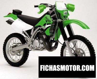 Ficha técnica Kawasaki kdx 220 r 2005