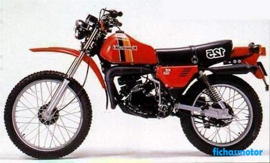 Ficha técnica Kawasaki ke 125 1976