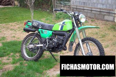 Ficha técnica Kawasaki ke 125 1983