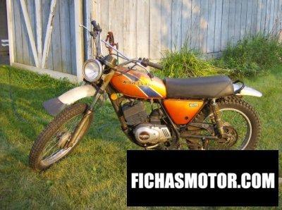 Ficha técnica Kawasaki ke 175 1975