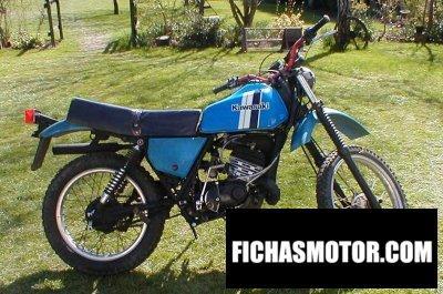 Imagen moto Kawasaki ke 175 año 1979