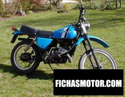 Imagen moto Kawasaki ke 175 año 1980