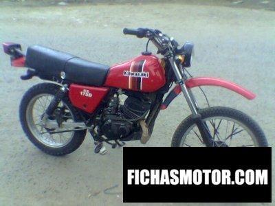 Ficha técnica Kawasaki ke 175 1981
