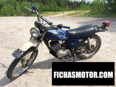 Ficha técnica Kawasaki ke 175 b 1977