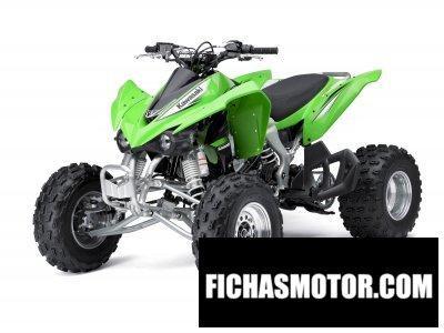 Ficha técnica Kawasaki kfx 450r 2011
