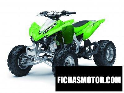 Imagen moto Kawasaki kfx 450r año 2013