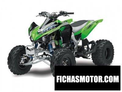 Imagen moto Kawasaki kfx 450r año 2014