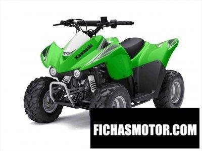Imagen moto Kawasaki kfx 50 año 2010