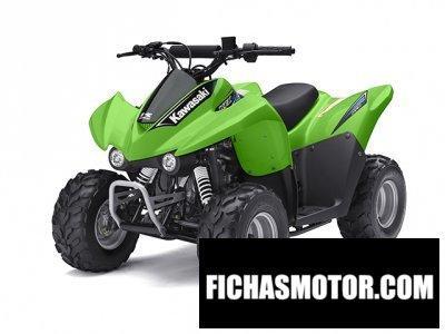 Imagen moto Kawasaki kfx 50 año 2014
