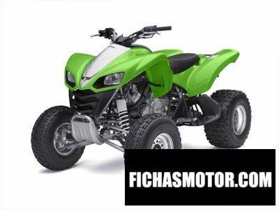 Ficha técnica Kawasaki kfx 700 2010