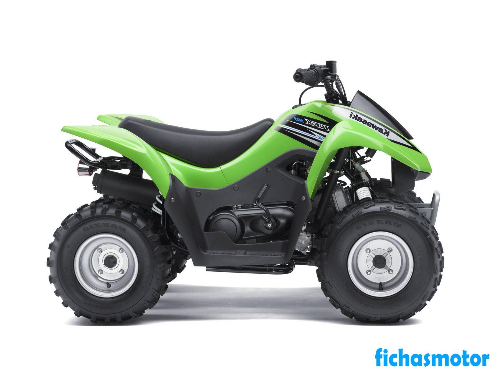 Ficha técnica Kawasaki kfx 90 2011