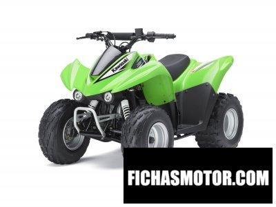 Ficha técnica Kawasaki kfx 90 2012