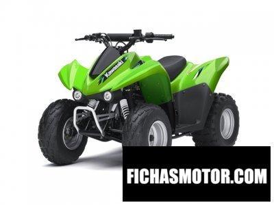Ficha técnica Kawasaki kfx 90 2013