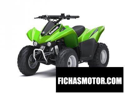 Ficha técnica Kawasaki kfx 90 2014