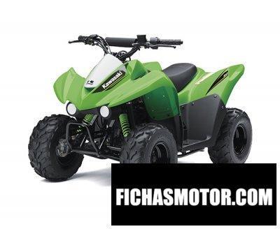 Imagen moto Kawasaki kfx50 año 2017
