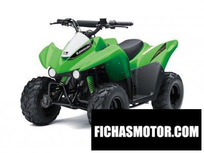 Imagen moto Kawasaki KFX50 año 2020