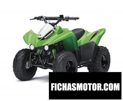 Ficha técnica Kawasaki kfx90 2017