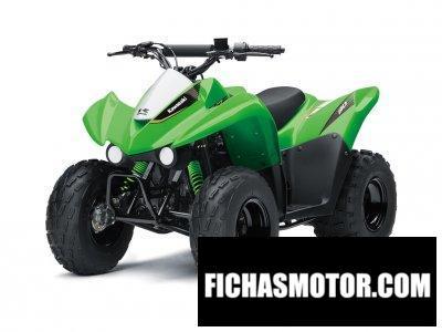 Ficha técnica Kawasaki KFX90 2020