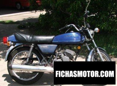 Imagen moto Kawasaki kh 125 año 1977