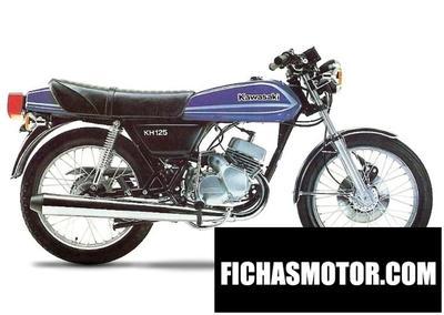 Imagen moto Kawasaki kh 125 año 1978