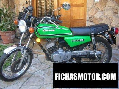 Imagen moto Kawasaki kh 125 año 1980