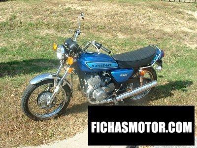Imagen moto Kawasaki kh 250 año 1975