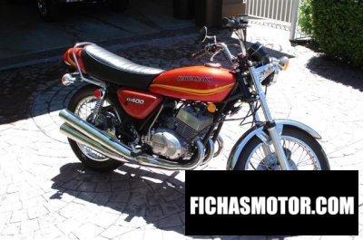 Ficha técnica Kawasaki kh 400 1978