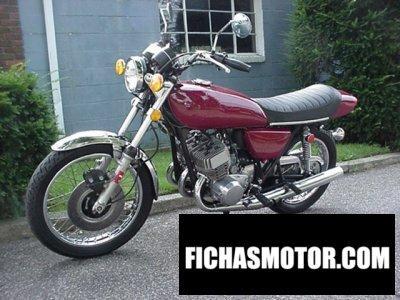 Imagen moto Kawasaki kh 500 año 1975