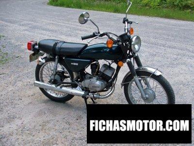Imagen moto Kawasaki kh100-b7 año 1976