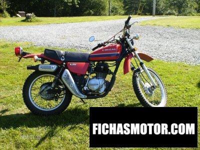 Imagen moto Kawasaki kl 250 año 1978