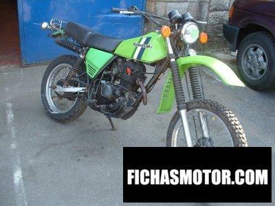Ficha técnica Kawasaki kl 250 1980