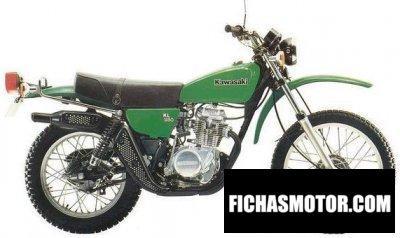 Ficha técnica Kawasaki kl 250 1981