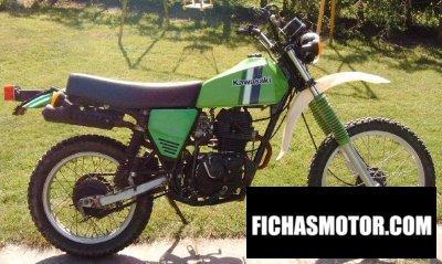 Imagen moto Kawasaki kl 250 año 1983
