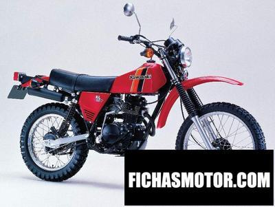 Imagen moto Kawasaki kl 250 año 1984