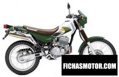 Imagen moto Kawasaki kl250-g6 super sherpa año 2002