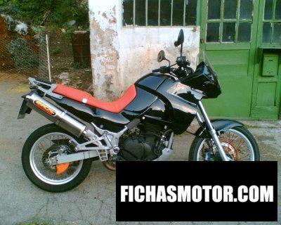 Imagen moto Kawasaki kle 500 año 1996