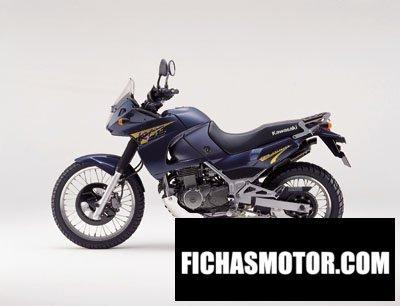 Imagen moto Kawasaki kle 500 año 2001