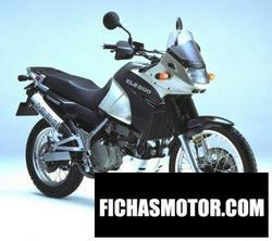 Imagen moto Kawasaki kle 500 2002