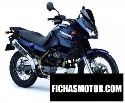 Ficha técnica Kawasaki kle500 2007