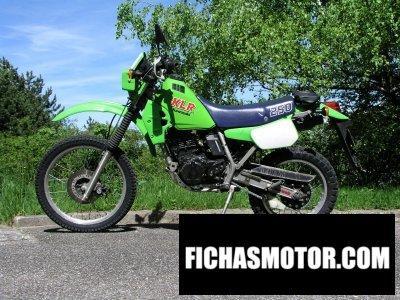 Ficha técnica Kawasaki klr 250 1986