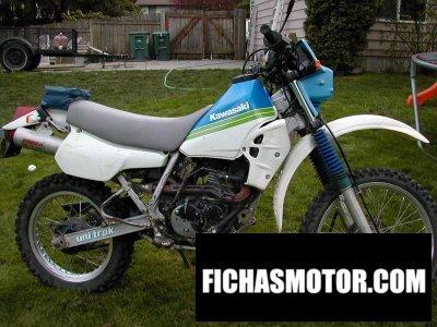 Imagen moto Kawasaki klr 250 año 1989