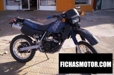 Imagen moto Kawasaki klr 250 año 1991
