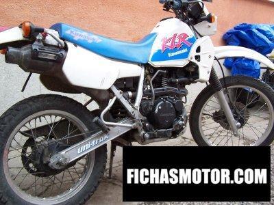 Ficha técnica Kawasaki klr 250 1992