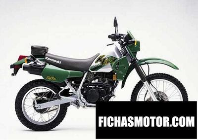 Ficha técnica Kawasaki klr 250 1998