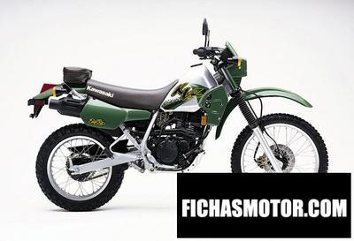 Imagen moto Kawasaki klr 250 año 2001
