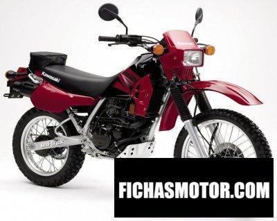 Imagen moto Kawasaki klr 250 año 2005
