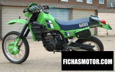 Imagen moto Kawasaki klr 600 año 1985