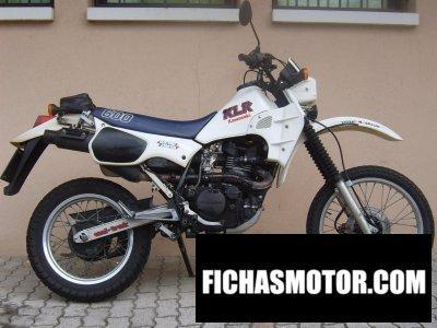 Imagen moto Kawasaki klr 600 año 1986