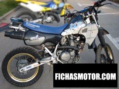Ficha técnica Kawasaki klr 600 e 1990