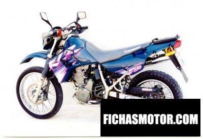 Imagen moto Kawasaki klr 650 año 1996